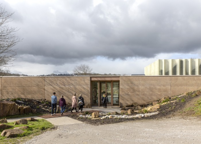 the weston at yorkshire sculpture park courtesy feilden fowles and ysp photo A peter cook 4